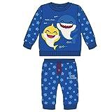 CERDÁ LIFE'S LITTLE MOMENTS 2200006327_T24M-C56 Chandal Baby Shark Infantil de Color Azul, 24 meses...