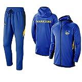 FGRGH Golden State Warriors - Juego de sudadera con capucha para hombre de baloncesto y pantalones...