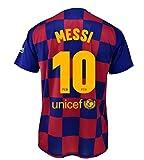 Camiseta 1ª equipación FC. Barcelona 2019-20 - Replica Oficial con Licencia - Dorsal 10 Messi -...