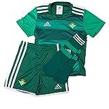 adidas Minikit Conjunto Real Betis Balompie 2015-2016, Unisex niños, Negro/Verde (Negro/Verosc), 92