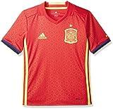adidas FEF H JSY Y Camiseta Selección Española de Futbol 1ª Equipación 2016/2017, niño,...